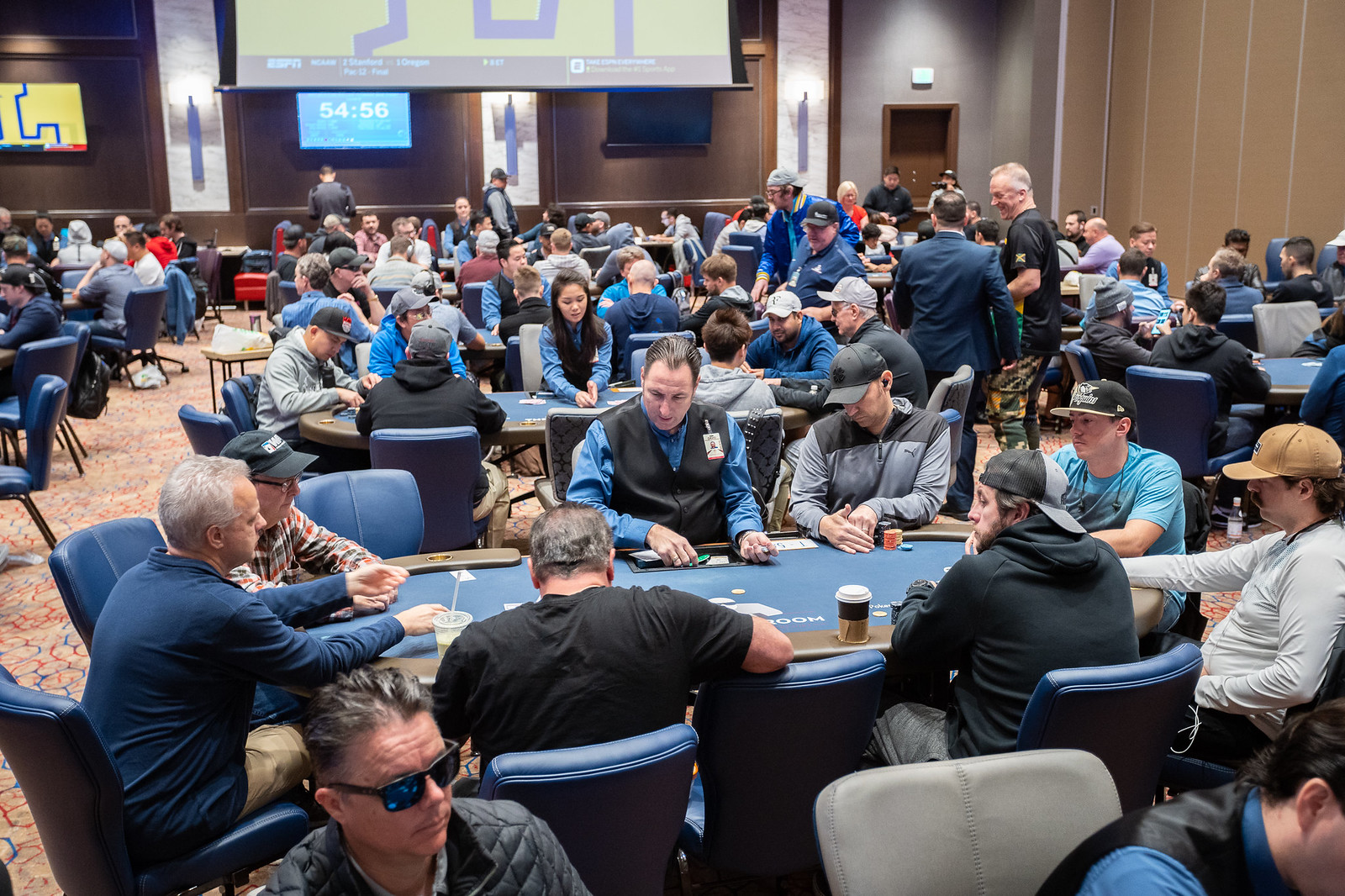 THUNDER VALLEY POKER ROOM DAY S17 DAY 2