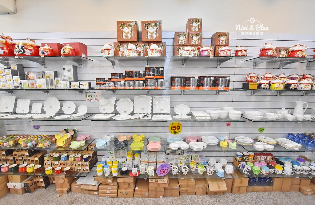 台中餐具批發 台韓 骨瓷 摩艾石像11