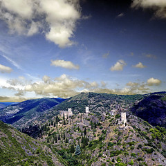 Lastours, Aude, France - Photo of Trassanel