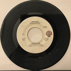 VAN HALEN:JUMP(RECORD SIDE-B)