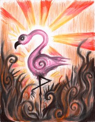 Amy's Flamingo