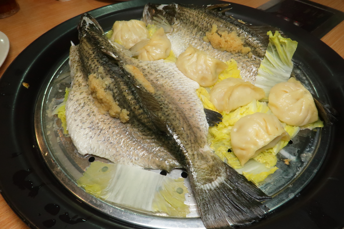 MQL Steamboat Steamed Seabass