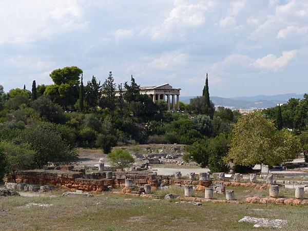 le temple d'athéna