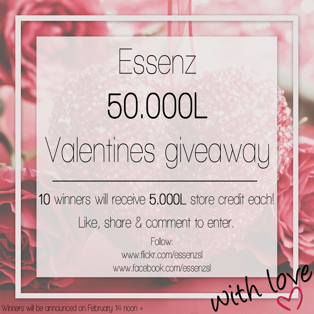 Essenz - Valentines giveaway - TeleportHub.com Live!