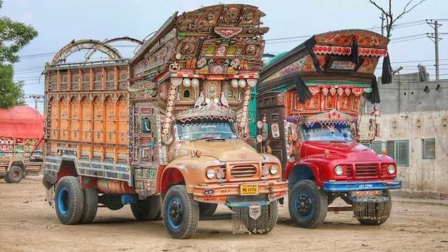 4978 Why Pakistani trucks are so decorated
