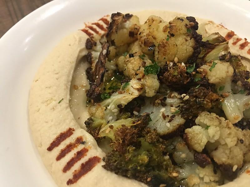 Hummus Bowl, The Cafe Mediterranean