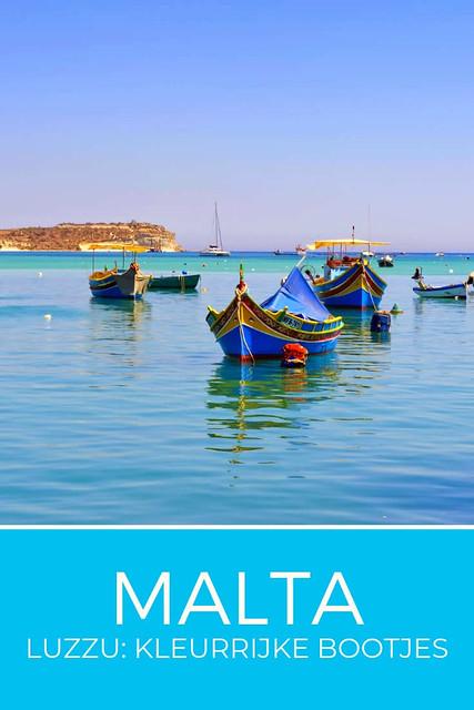De kleurrijke vissersbootjes van Malta, Luzzu   Malta & Gozo