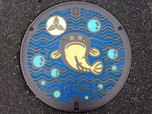 Yoshikawa Saitama, manhole cover 2 (埼玉県吉川市のマンホール2)