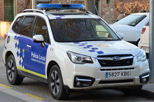 Policia Local de Lliçà d'Amunt
