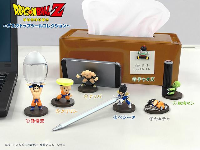 Dydo X 《七龍珠Z》只送不賣的「角色 桌上小物」贈品活動!DyDo×ドラゴンボールZ コラボキャンペーン
