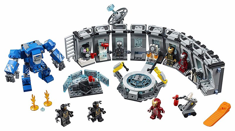 Iron Man Hall of Armour (76125)