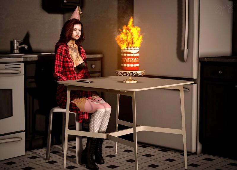 (Noir) Blow the candle