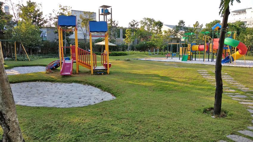 Công viên nội khu dự án Jamona Golden Silk quận 7.