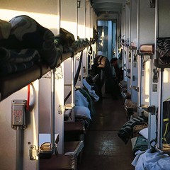 Өглөө Улаанбаатар! 【浪游旅人】https://ift.tt/1zmJ36B #bacpackerjim #morning #cold #belowfreezing #sleeper #compartment #bed #train #railway #ulaanbaatar #mongolia #Улаанбаатар #монголулс