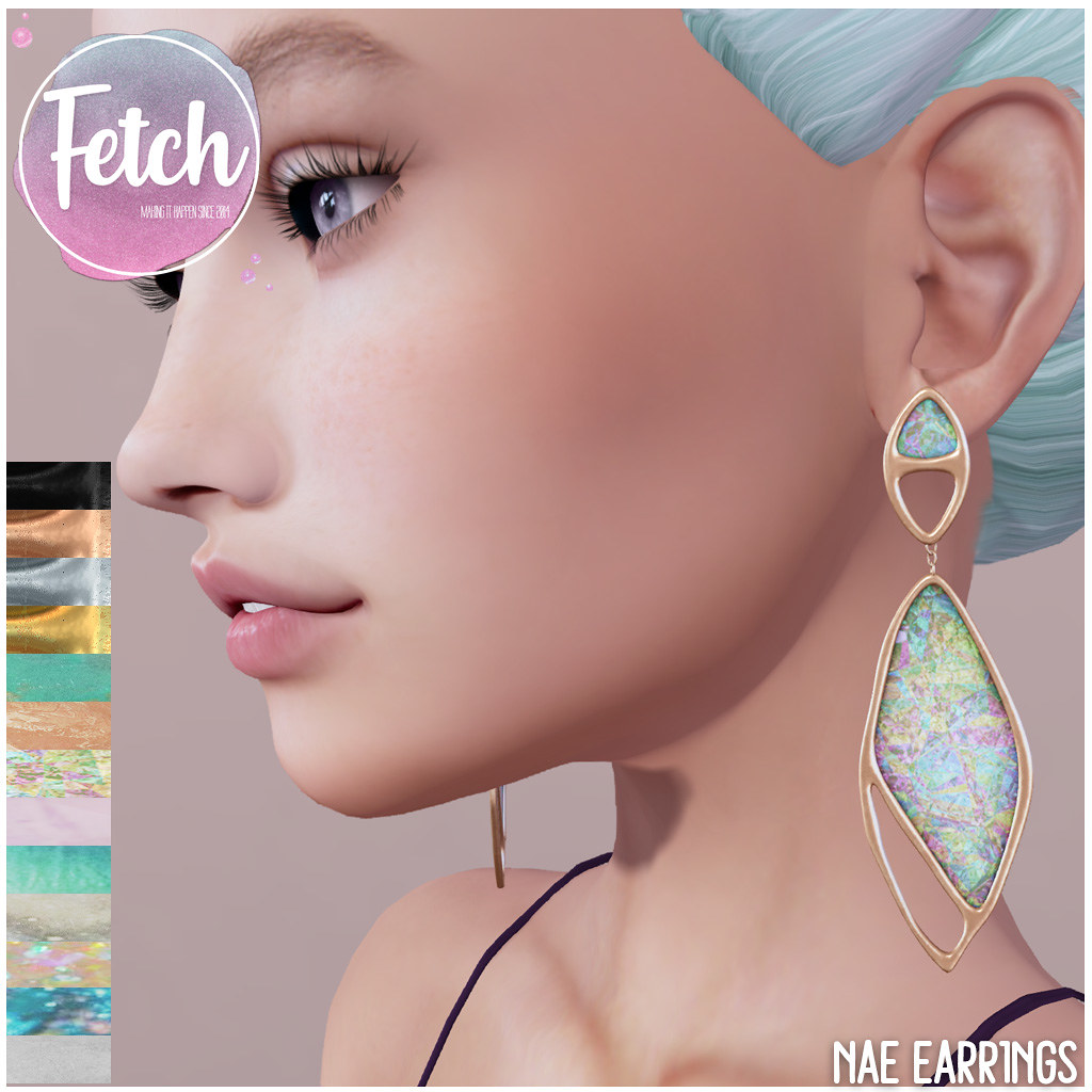 [Fetch] Nae Earrings @ Saturday Sale! - TeleportHub.com Live!