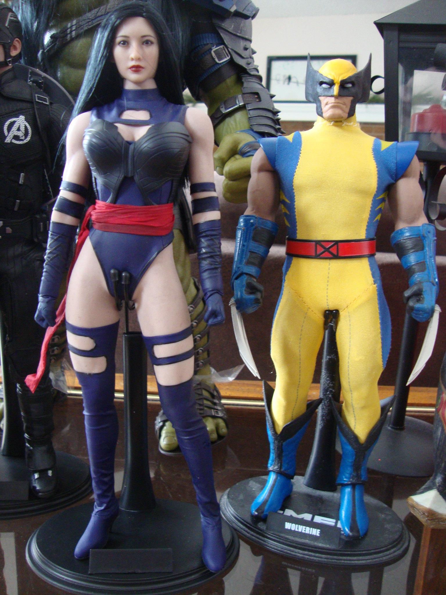 Toys Era Psylocke (Body swapped to a Phicen) 31775740277_c5c85e721f_k