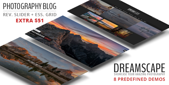 Dreamscape v1.2 - A Responsive Photography Blog Theme
