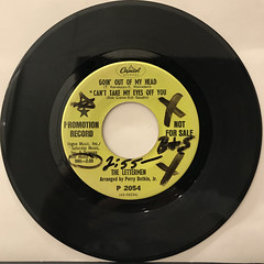 THE LETTERMEN:GOIN' OUT OF MY HEAD(RECORD SIDE-A)