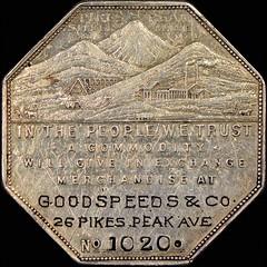 Goodspeeds Lesher dollar obverse
