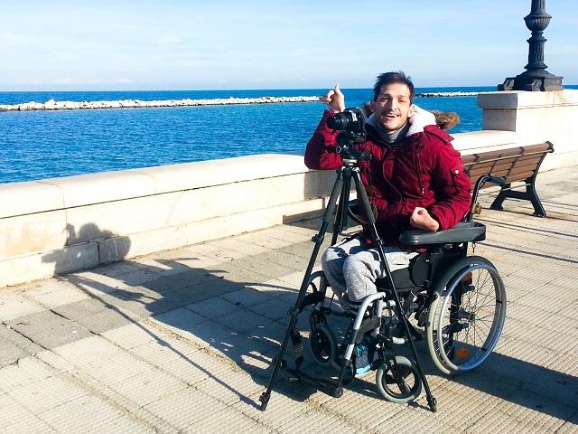 Noicattaro. disabilità intero