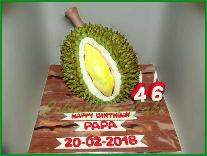 Cake Durian Papa 15 cm