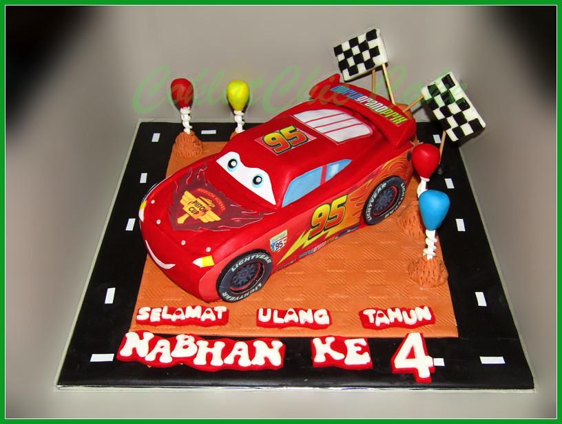 Cake Lightning McQueen NABHAN 20 cm