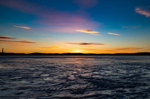 Sunrise Falun