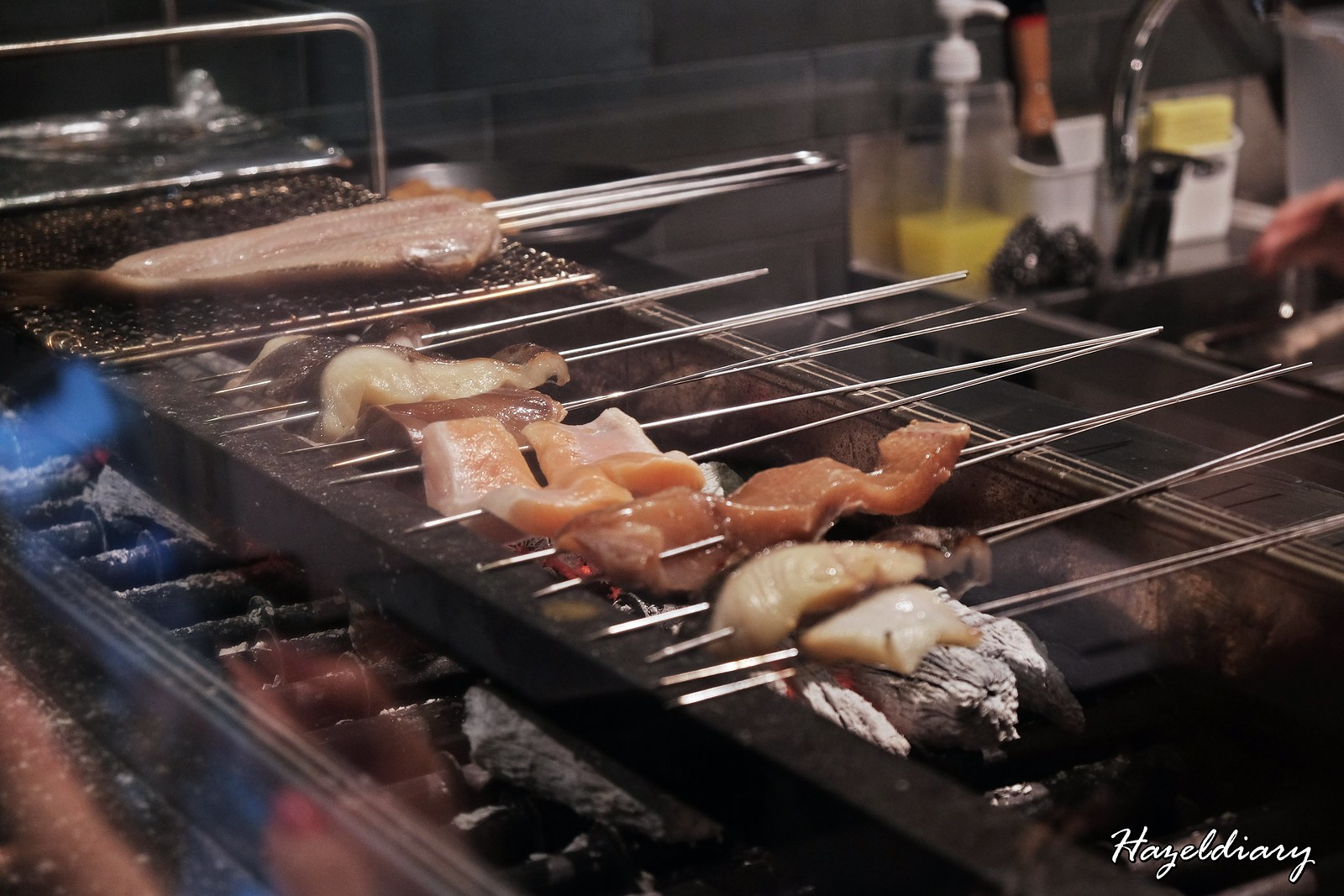 Charcoal grill and salad bar keisuke singapore-2