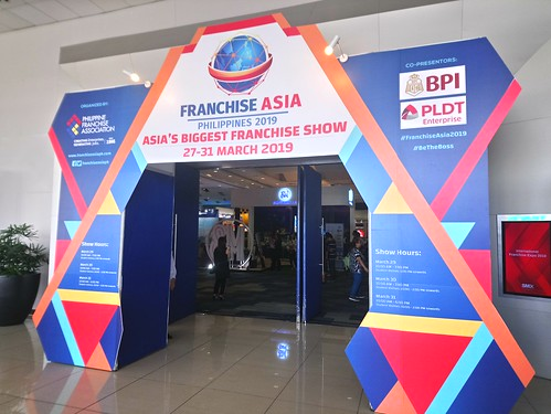franchise asia 2019 entrance