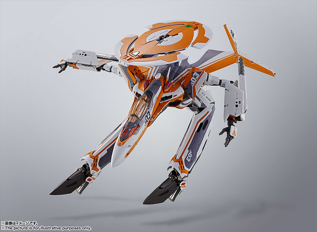 DX超合金 《超時空要塞Δ》「VF-31E 齊格菲(恰克‧馬斯坦格機)」!ジークフリード(チャック・マスタング機)