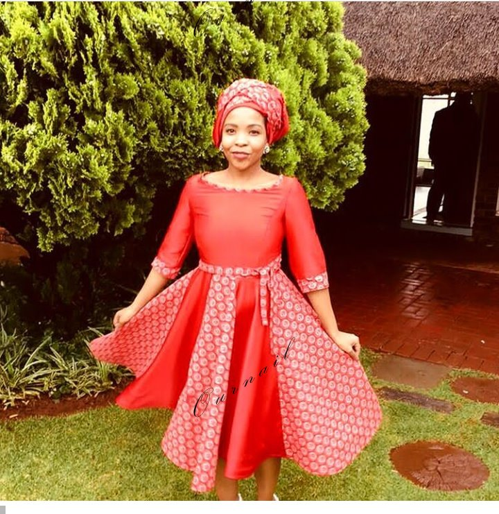 Chic Lock Shweshwe Dresses 2019 For Women