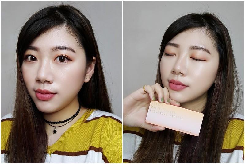 beautymaker緋紅絕色眼影盤10