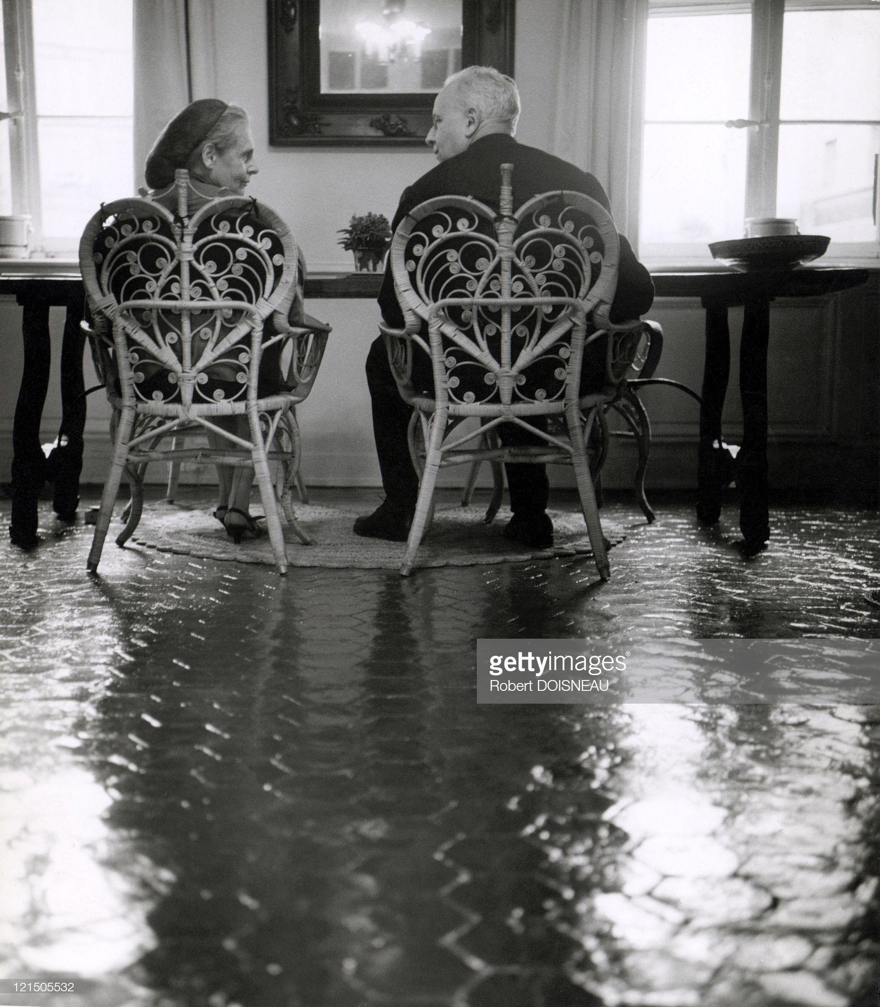 1963. Луи Арагон и Эльза Триоле