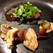 Menu # 17 Slow cooked beef short rib - celeraic mash, crispy beef tendons, carrots