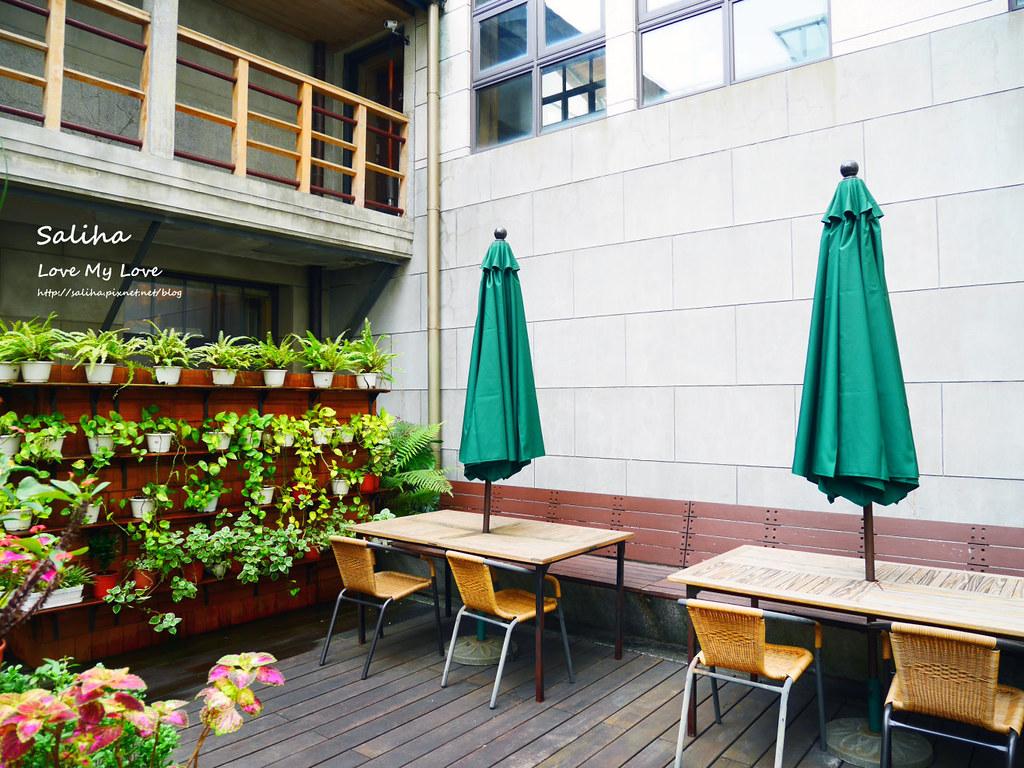 台北車站台大醫院站附近親子餐廳恐龍餐廳花園景觀餐廳咖啡下午茶 (5)