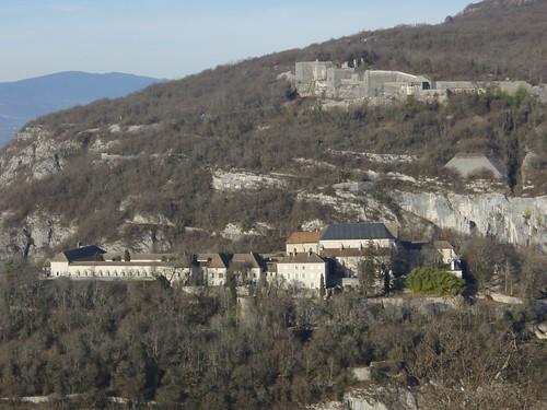 la Chartreuse de Pierre Chatel et le fort les Bancs à Virignin