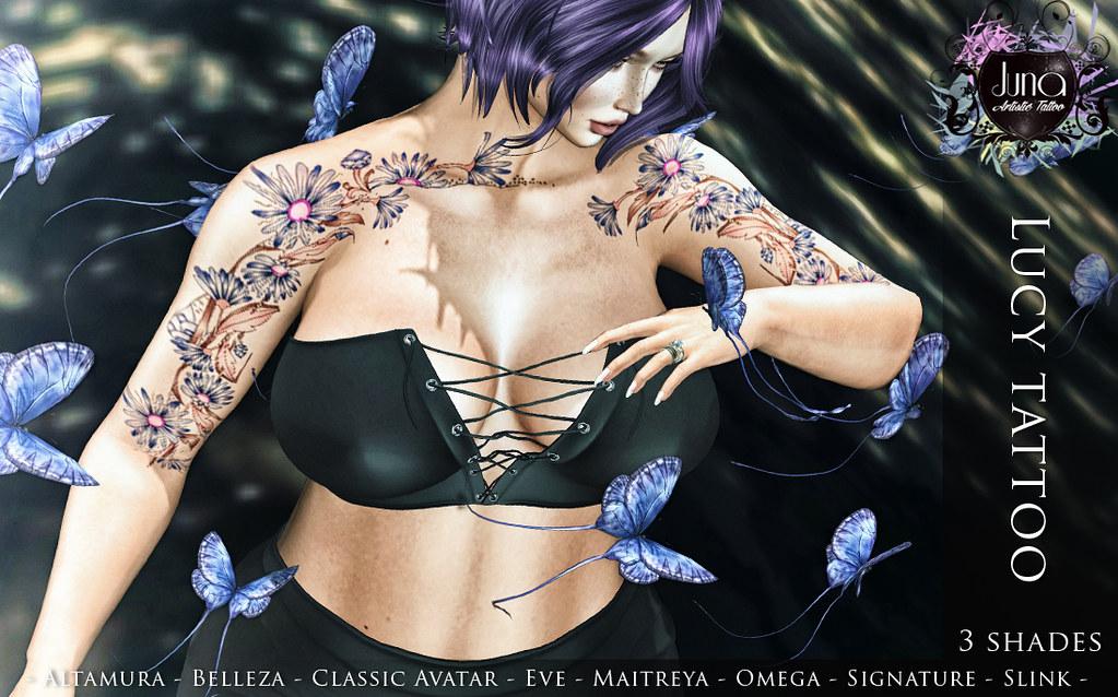 Lucy tattoo
