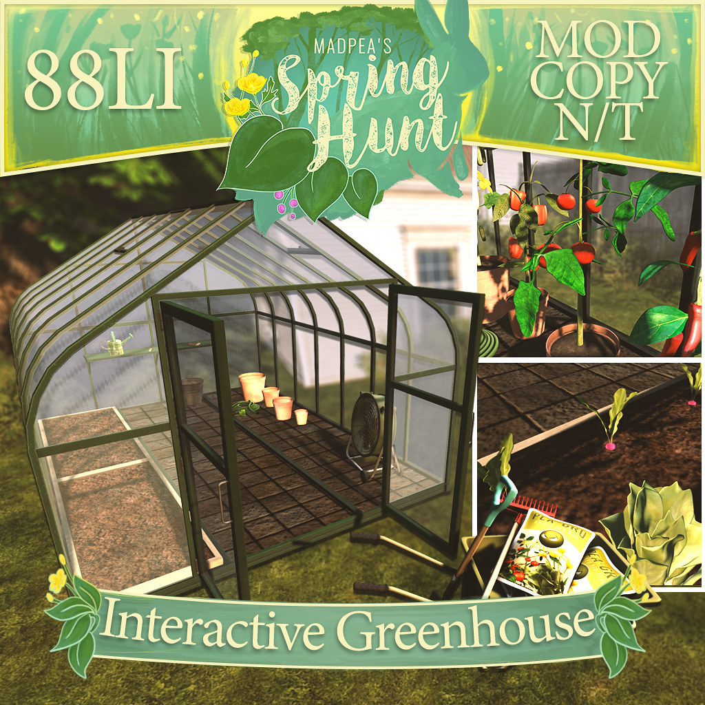 MadPea Interactive Greenhouse