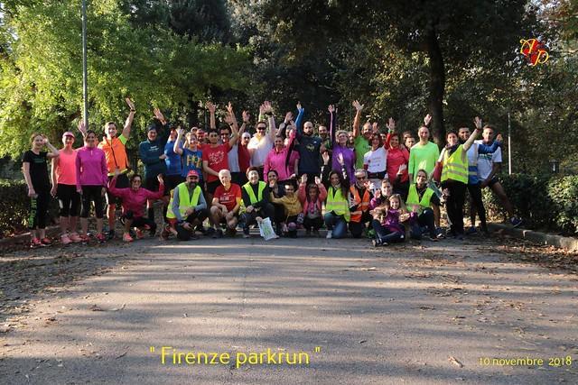 Firenze parkrun n. 59 - 10 Novembre 2018