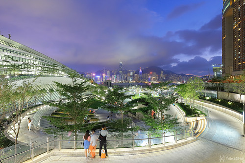 "Hong Kong West Kowloon Station ""Green Plaza"""