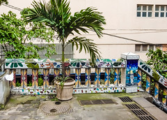 The streets of Rio