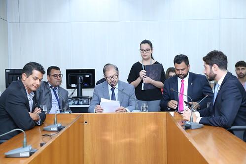 1ª Reunião Extraordinária- Comissão de Legislação e Justiça