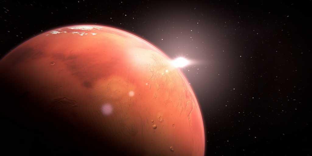 Mars serait toujours volcaniquement active