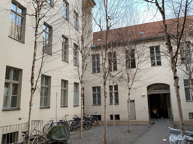 Linienstraße 144, interior courtyard (facing north)