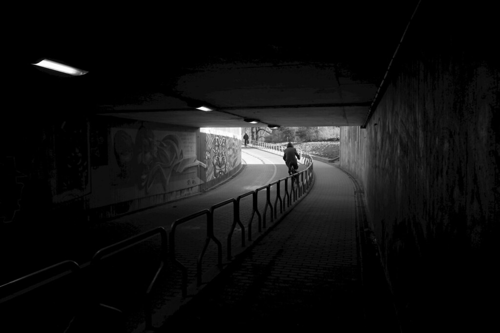 Bicycle tunnel