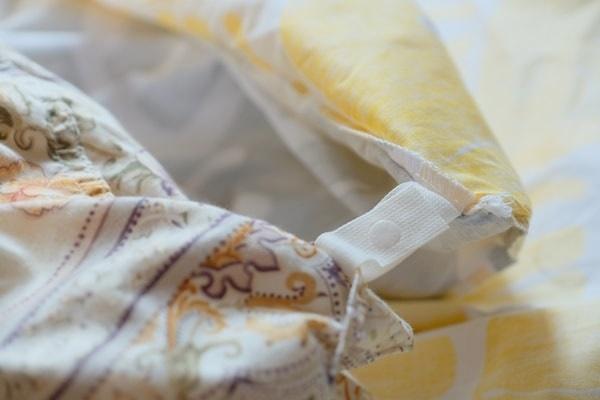finlayson スナップ式の掛け布団カバー