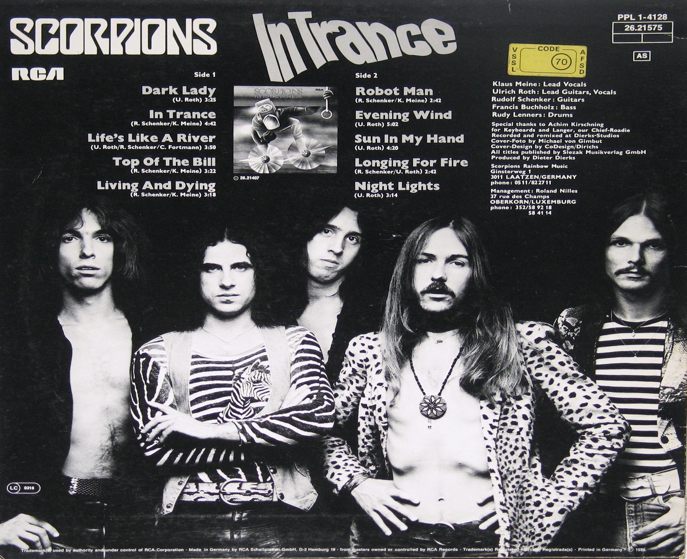 Scorpions In Trance uncensored breast cover