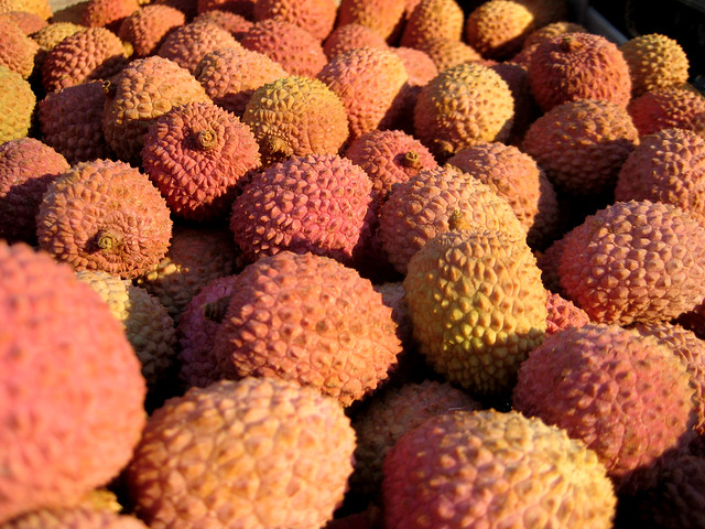 lychees in the sunshine, Canon DIGITAL IXUS 70