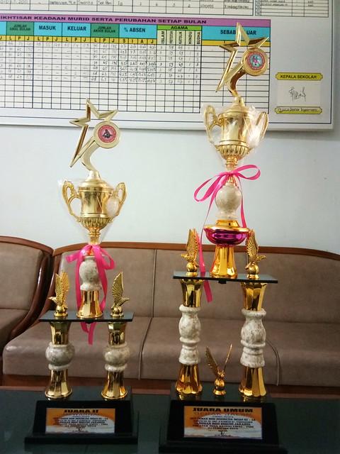 Juara Umum Gerak Jalan & Juara II Mewarnai se-Tingkat Nasional
