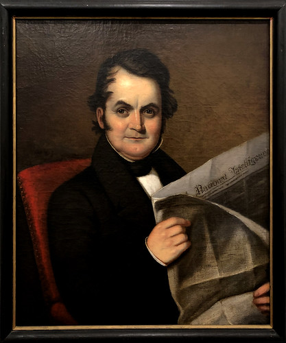 Self-Portrait of Samuel M Charles | by gmeador